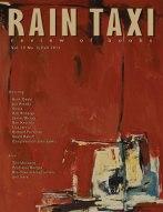 Rain Taxi fall 2013 cover