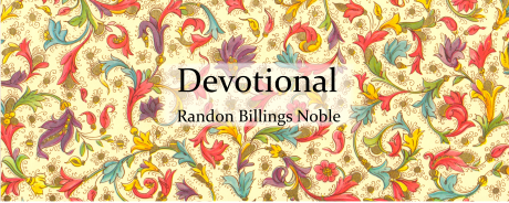 Devotional front cover