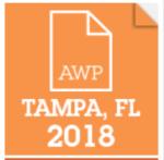 AWP 2018 logo